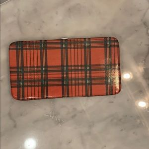 Handbags - Red plaid wallet